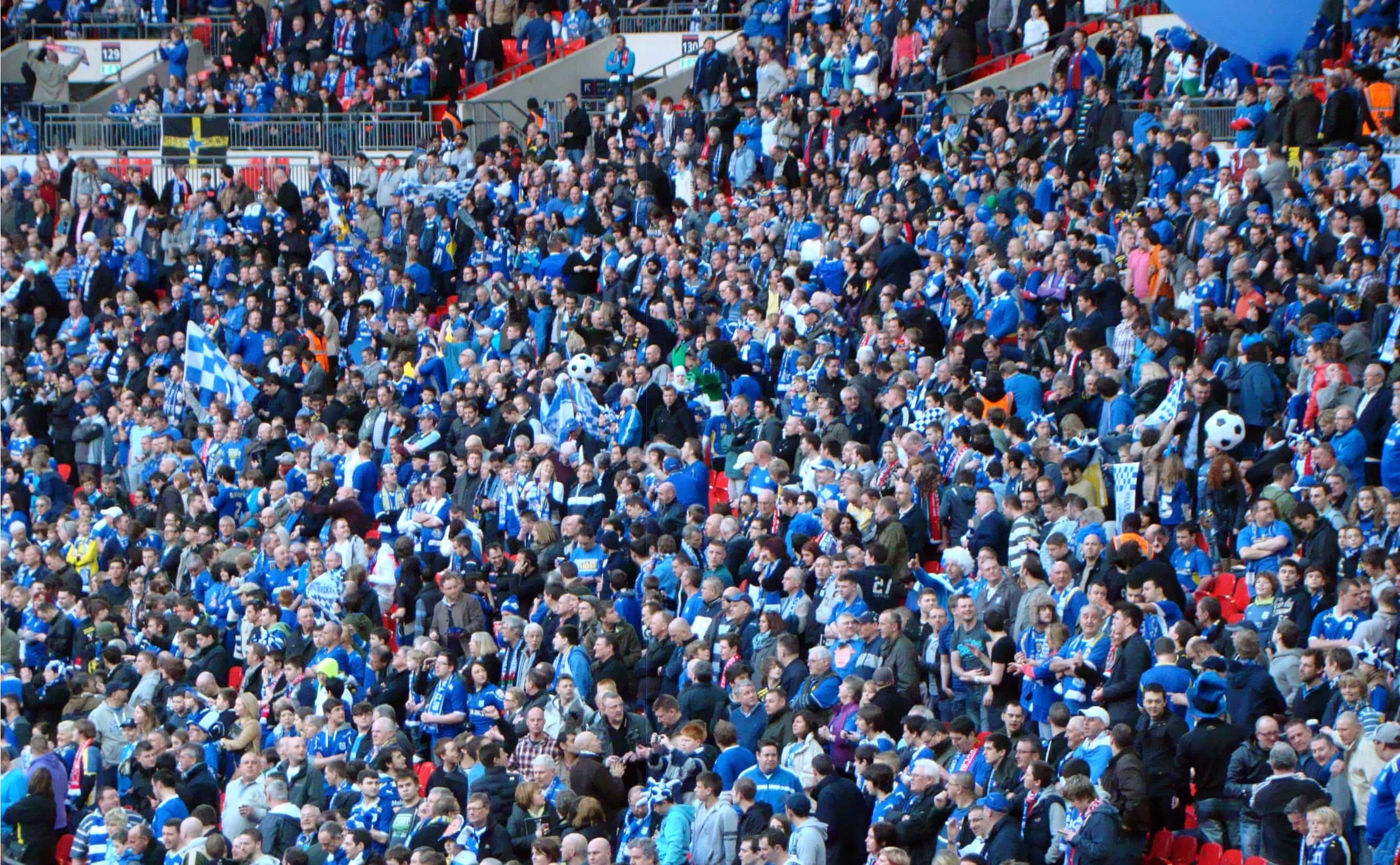 Cardiff City fans