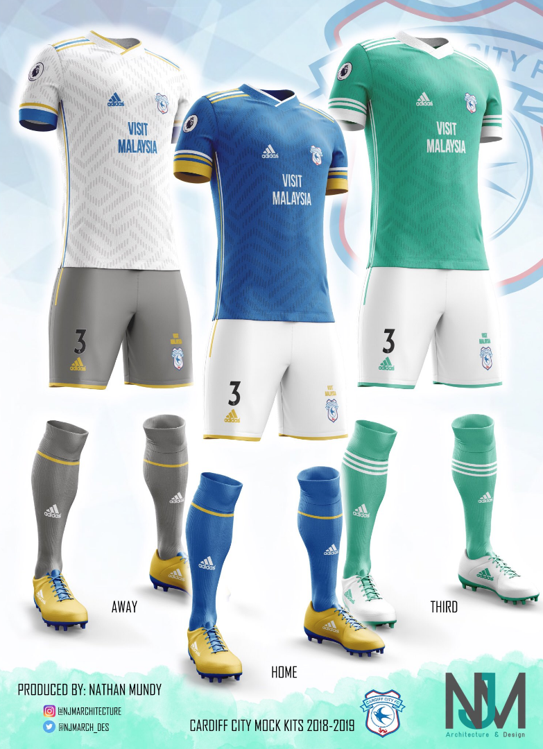 Kit Week 2018  Best Cardiff City fans  concept kits - View From The ... 04739369c