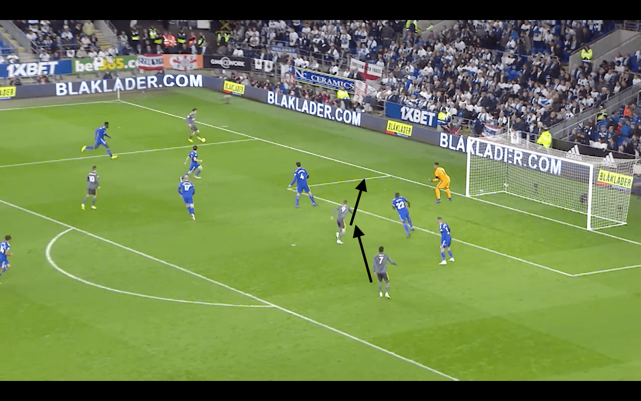 VFTN Analysis: Cardiff City 0-1 Leicester City: Bennett caught flat footed